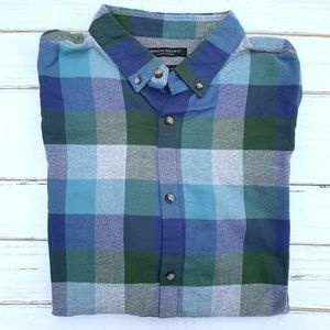 NWT Banana Republic Camden Fit Luxe Flannel